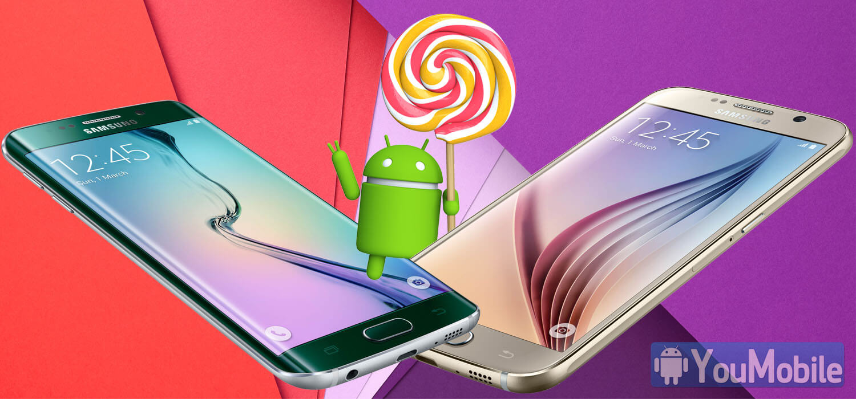 S6 S6 edge lollipop update