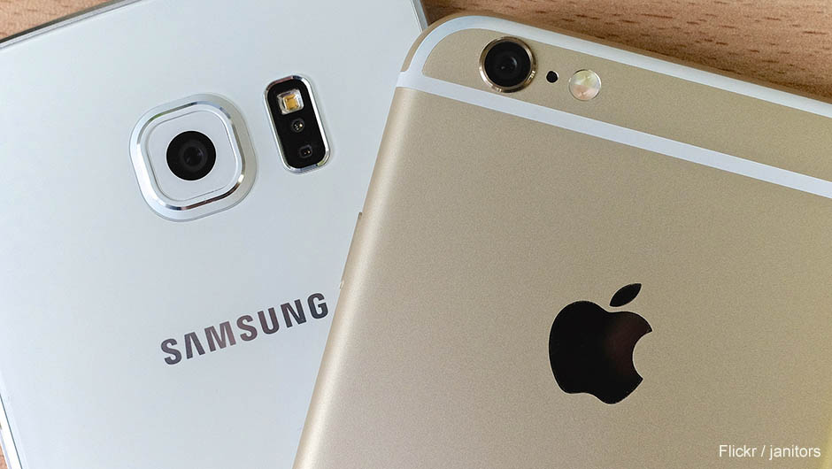 Samsung overtake apple