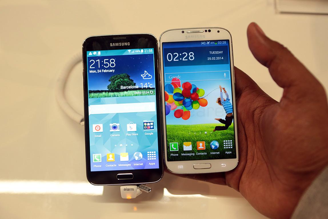 Galaxy S5 & Galaxy S4