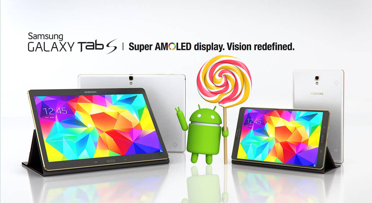 Galaxy Tab S Lollipop