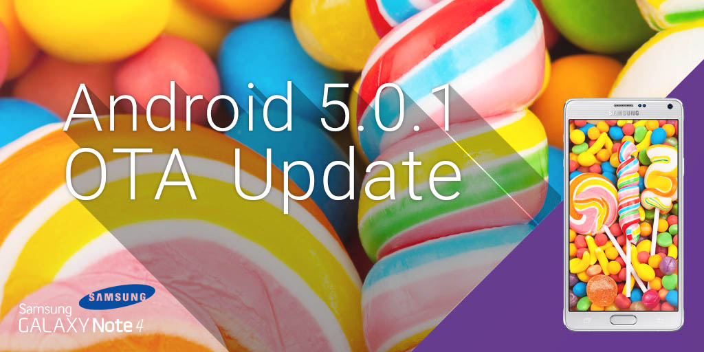 Samsung 5.0.1 lollipop Update