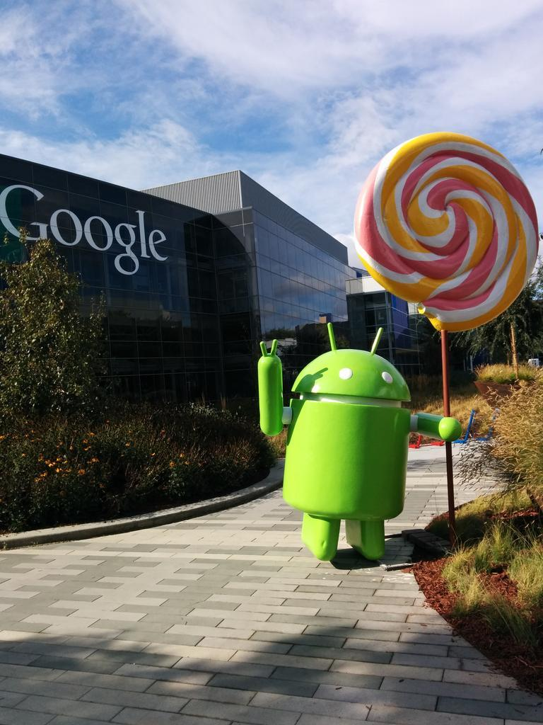 A Look inside Google's Headquarters and Android Statues ... - photo#33