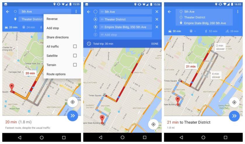 You Can Now Get Directions To Multiple Destinations From Google Maps - Google maps multiple stops