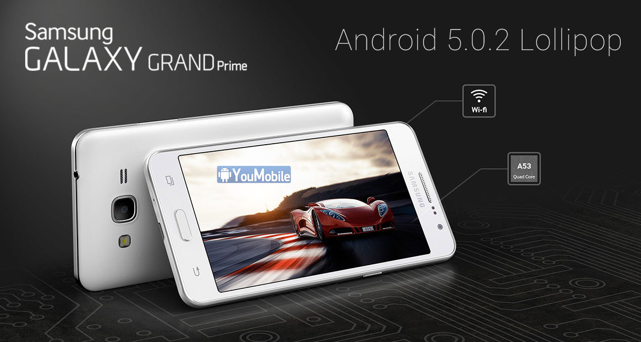 Galaxy Grand Prime G530 Lollipop 5.1.1 update