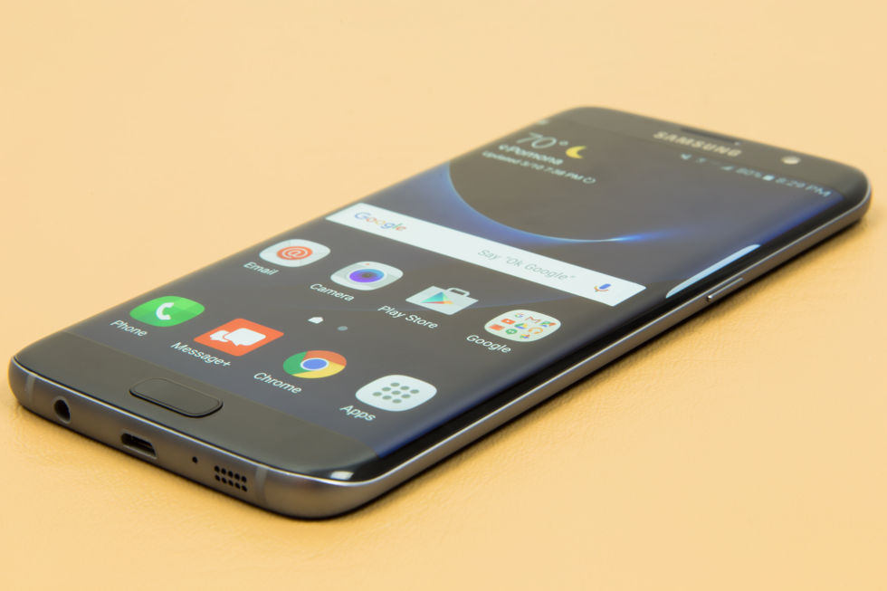 Mysterious update released for the Galaxy S7 Edge