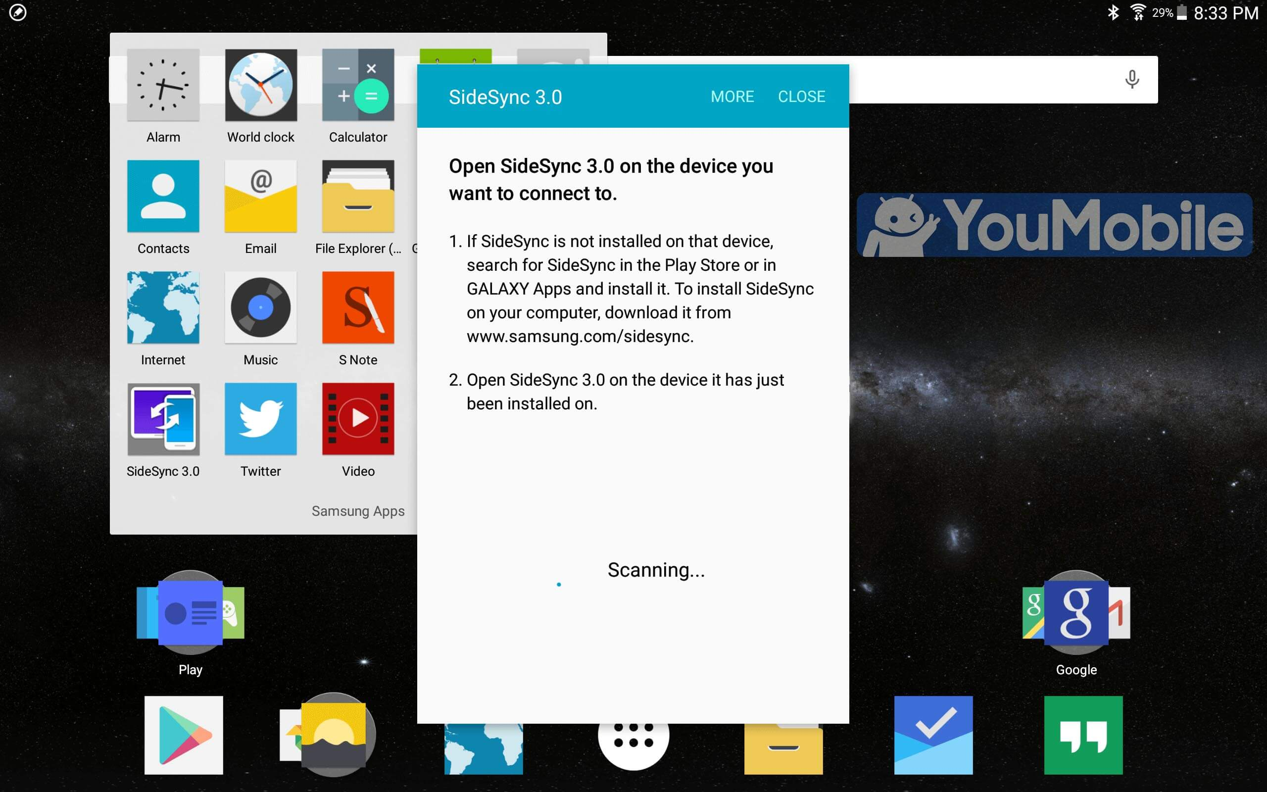 Galaxy Note 10.1 lollipop
