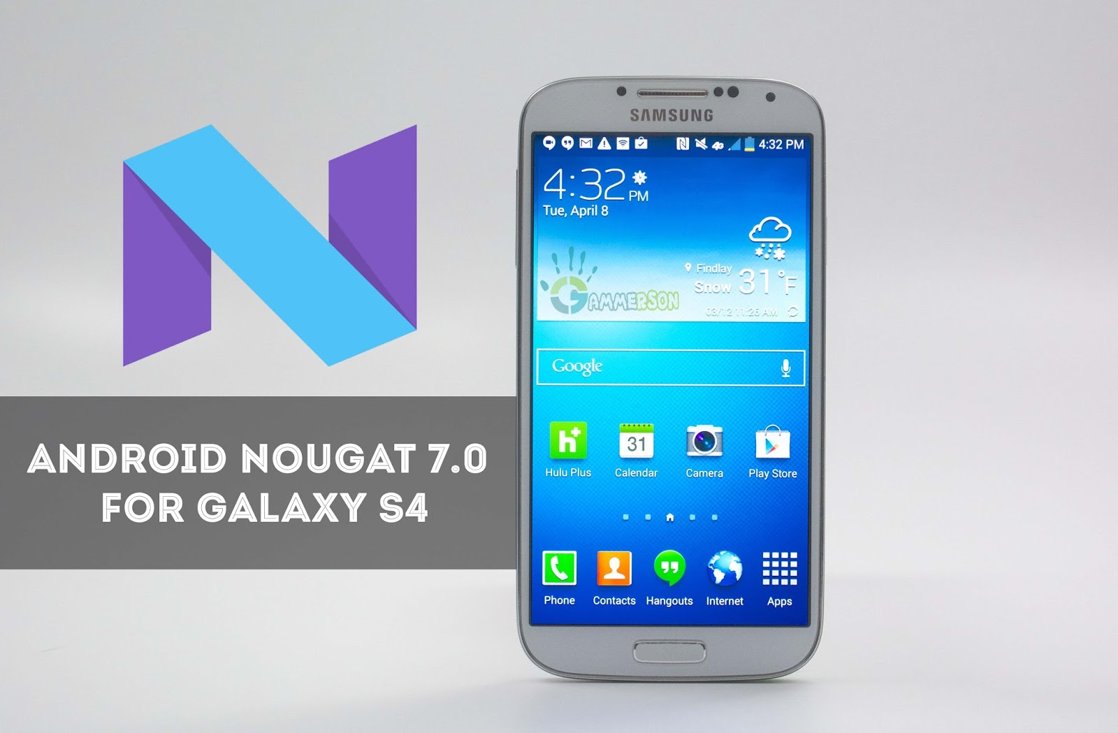 Android 7 0 and 7 1 Nougat updates for the Galaxy S4 and Galaxy S5?