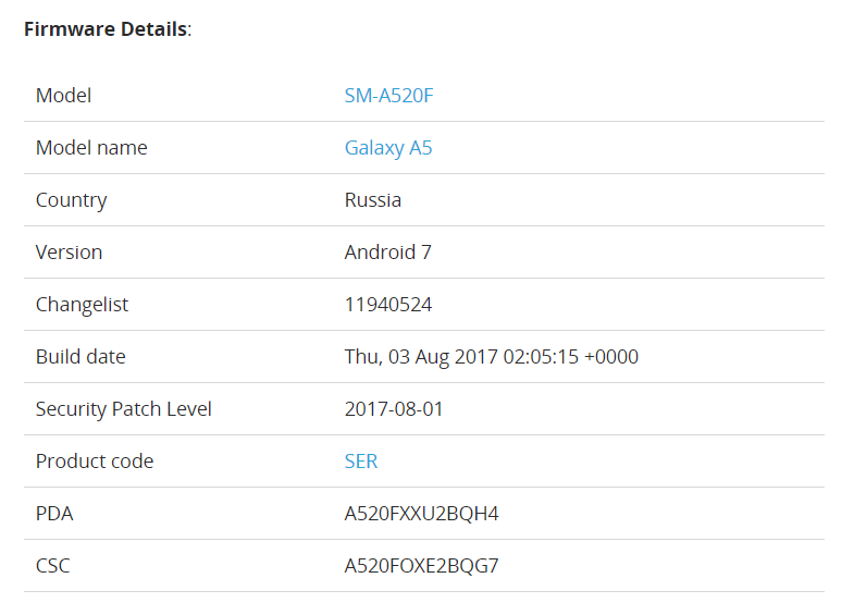 Android 7 0 Nougat Arrives for the Galaxy A5 (2017)