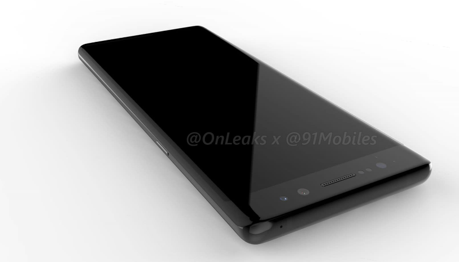 OnLeaks And 91Moiiles Have Collaborated In Bringing This Galaxy Note 8 Leak To You Which Looks Significantly Different From What One Would Expect The