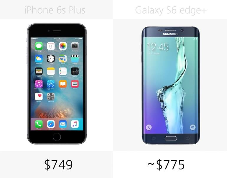 galaxy s6 vs iphone 5