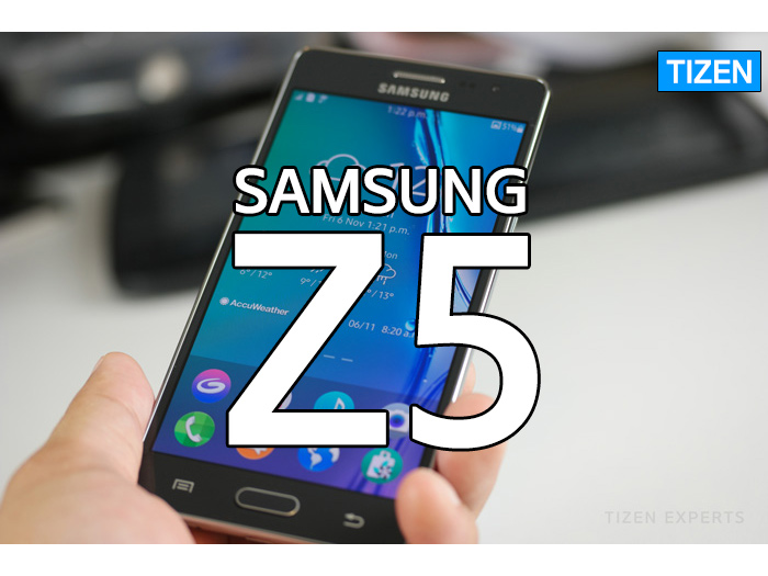 Is the Samsung Z5 going to run on Tizen?