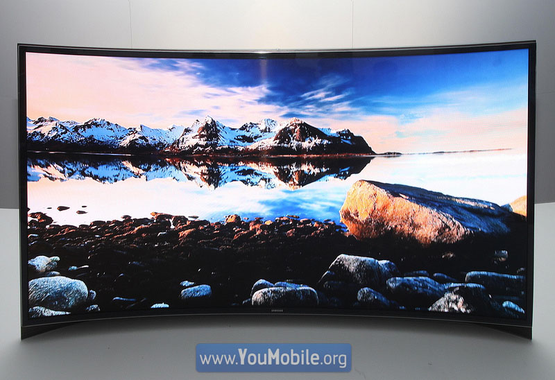 Samsung curved OLED 2013