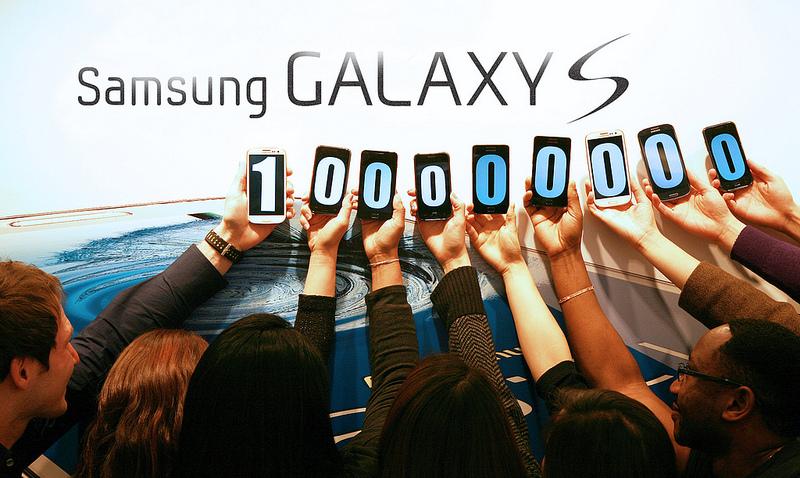 Galaxy S 100 Million