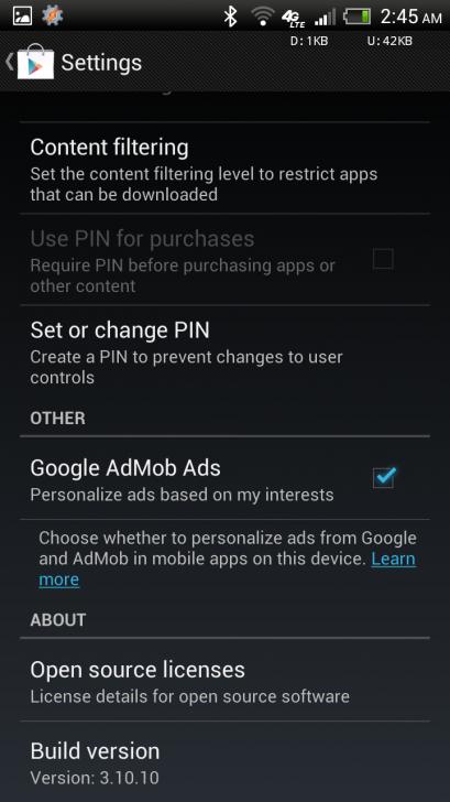 Google Play 3.10.10