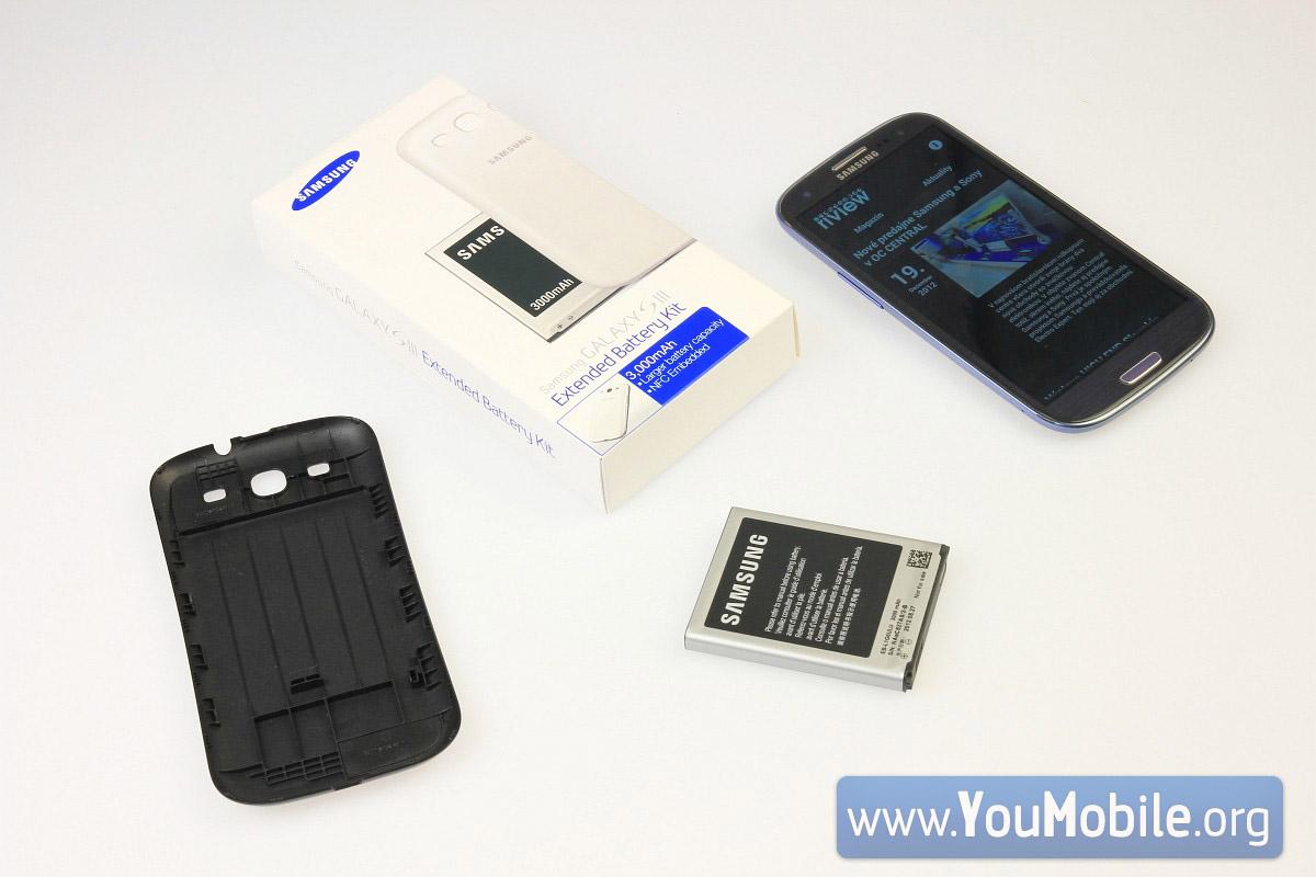 S3 Extended Battery Kit