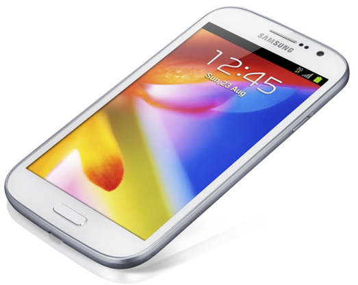 Galaxy Grand 5 inch display