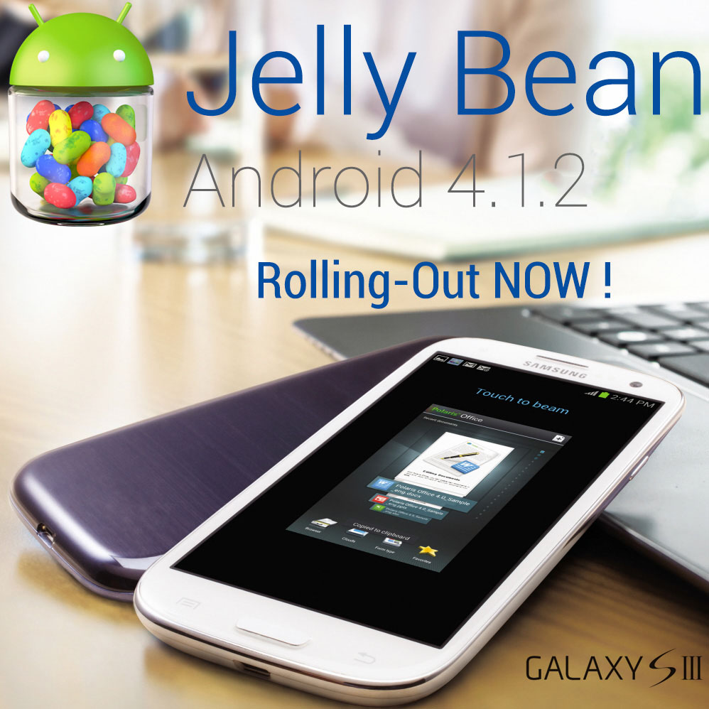 Samsung is Rolling-out the Official Android 4.1.2 Jelly ...