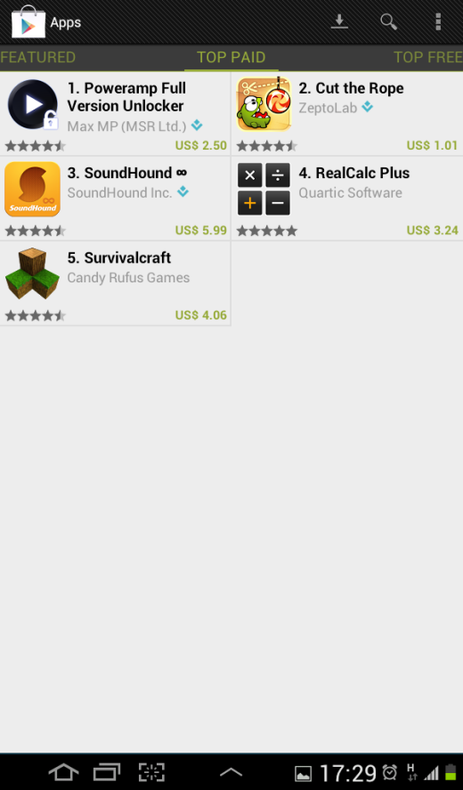 Egypt Paid Apps